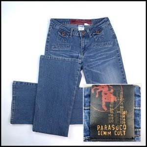 Parasuco Jeans Size 26x33 Boot Cut - #AE07